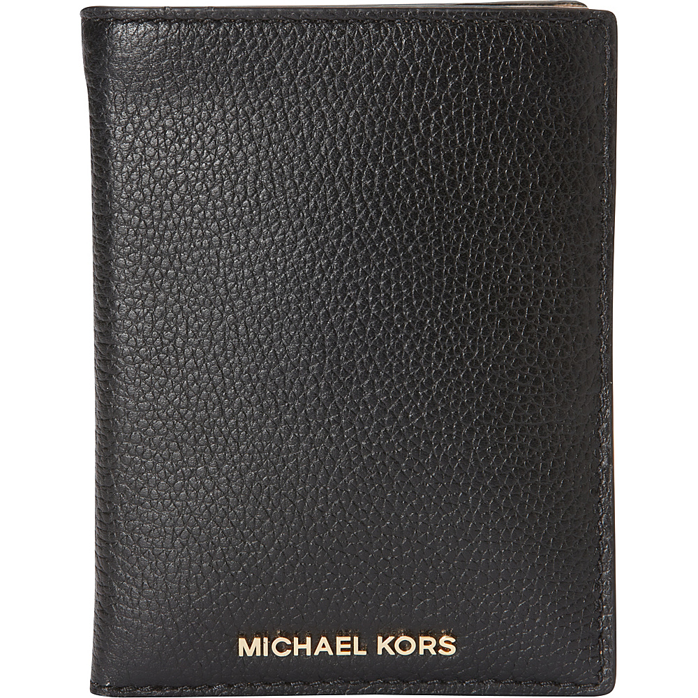 MICHAEL Michael Kors Mercer Passport Wallet Black MICHAEL Michael Kors Women s Wallets