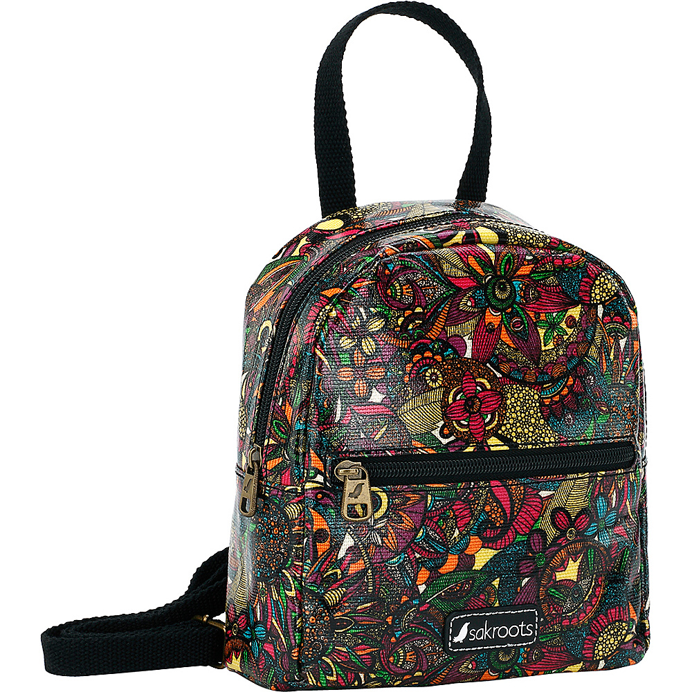 Sakroots The Artist Circle Mini Crossbody Backpack Rainbow Spirit Desert - Sakroots Fabric Handbags - Handbags, Fabric Handbags