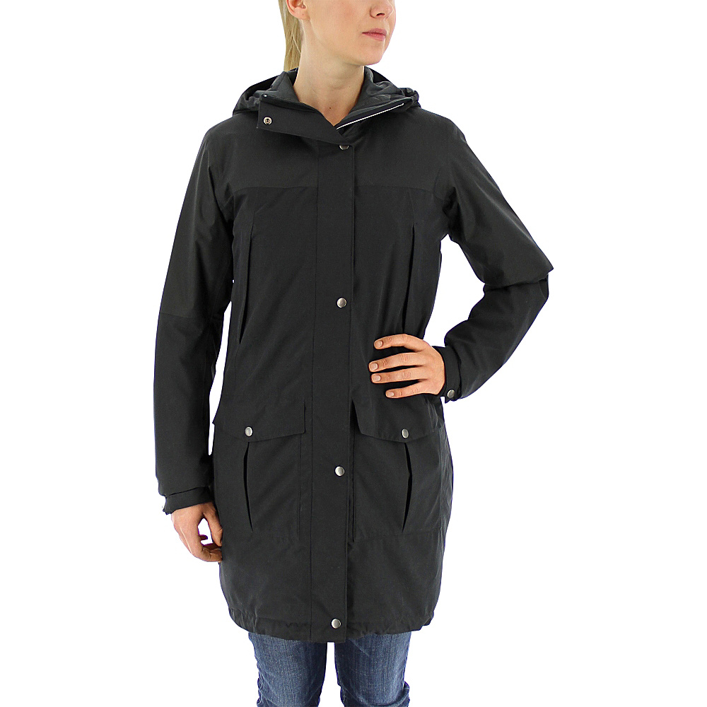 adidas apparel Womens Climaproof Insulated Parka M Black adidas apparel Women s Apparel