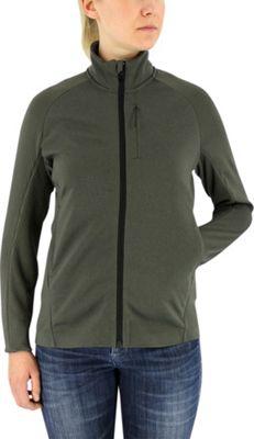 adidas apparel Womens Climaheat Fleece Jacket L - Utility Grey - adidas apparel Women's Apparel