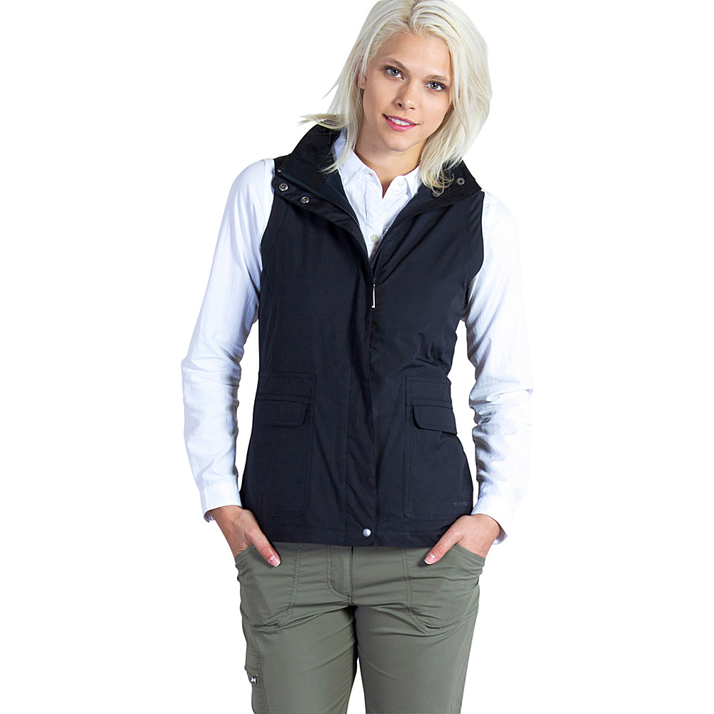 ExOfficio Womens FlyQ Vest S - Black - ExOfficio Womens Apparel - Apparel & Footwear, Women's Apparel