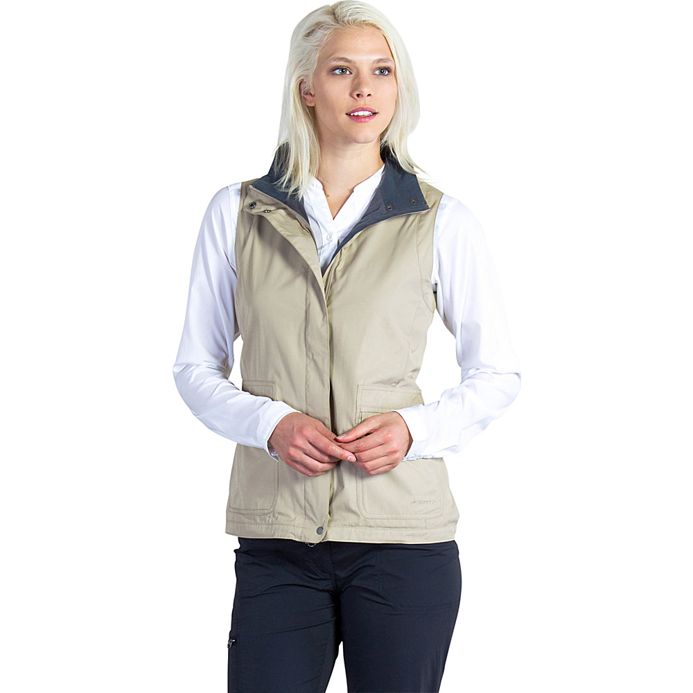 ExOfficio Womens FlyQ Vest XS - Tawny - ExOfficio Womens Apparel - Apparel & Footwear, Women's Apparel