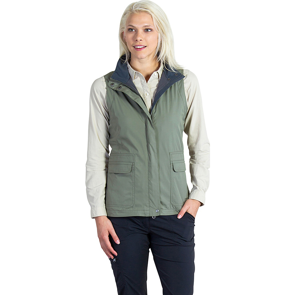 ExOfficio Womens FlyQ Vest S - Bay Leaf - ExOfficio Womens Apparel - Apparel & Footwear, Women's Apparel