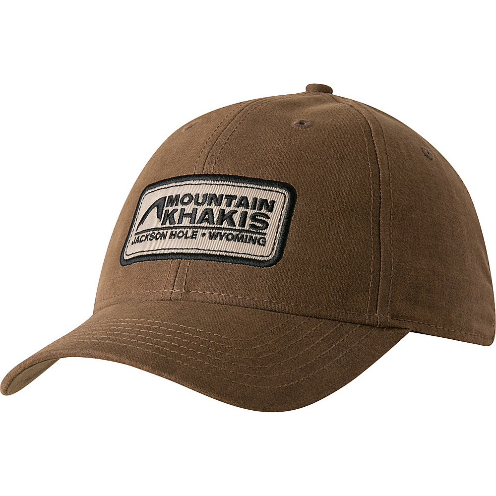 Mountain Khakis Waxed Cotton Cap One Size - Dark Brown - Mountain Khakis Hats/Gloves/Scarves - Fashion Accessories, Hats/Gloves/Scarves