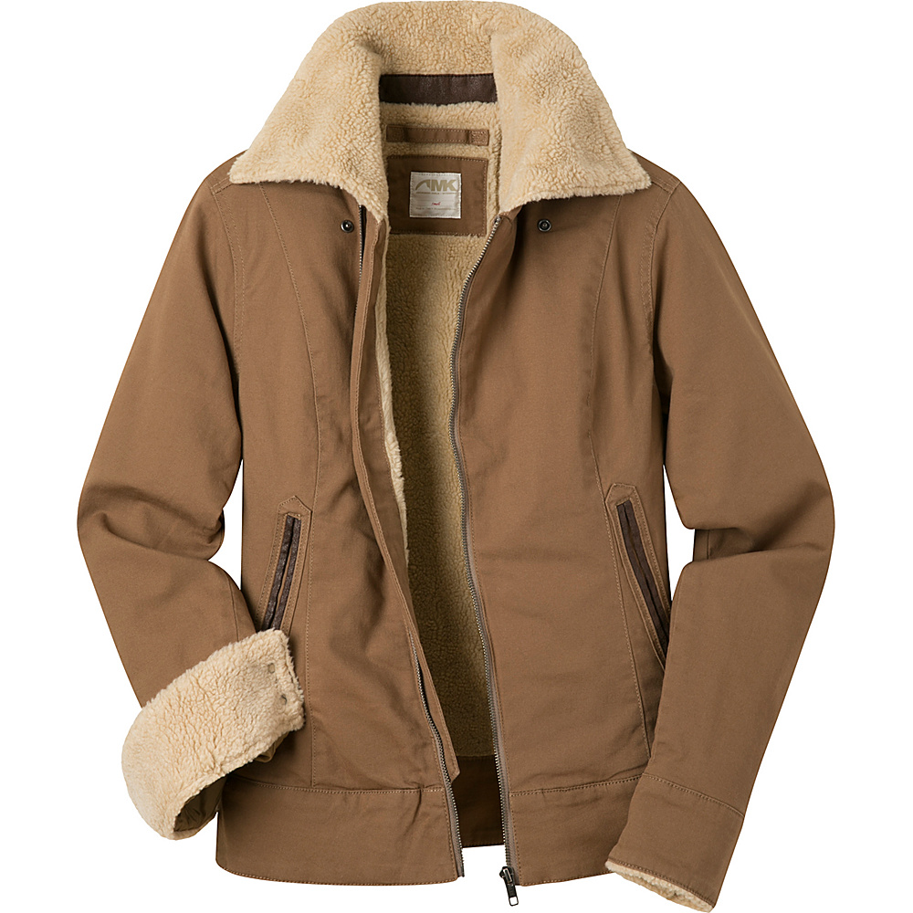 Mountain Khakis Ranch Shearling Jacket M - Tobacco - Mountain Khakis Womens Apparel - Apparel & Footwear, Women's Apparel
