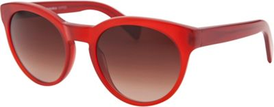Oliver Peoples Round Sunglasses Red/Translucent - Oliver Peoples Eyewear