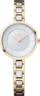 Obaku Watches Womens Stainless Steel Link Watch Gold/Silver - Obaku Watches Watches
