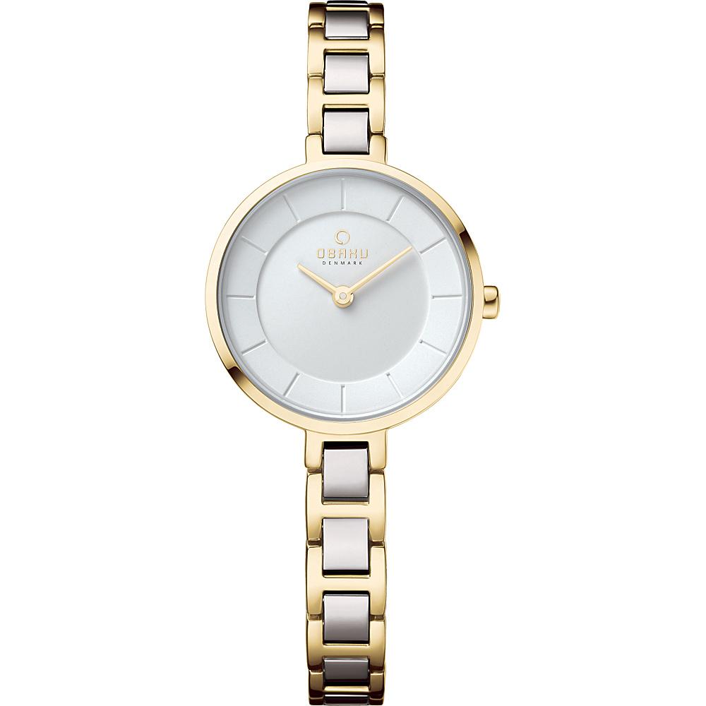 Obaku Watches Womens Stainless Steel Link Watch Gold Silver Obaku Watches Watches