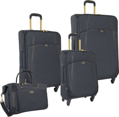 Vince Camuto Luggage Avrilly 4 Piece Luggage Set Night shadow blue - Vince Camuto Luggage Luggage Sets