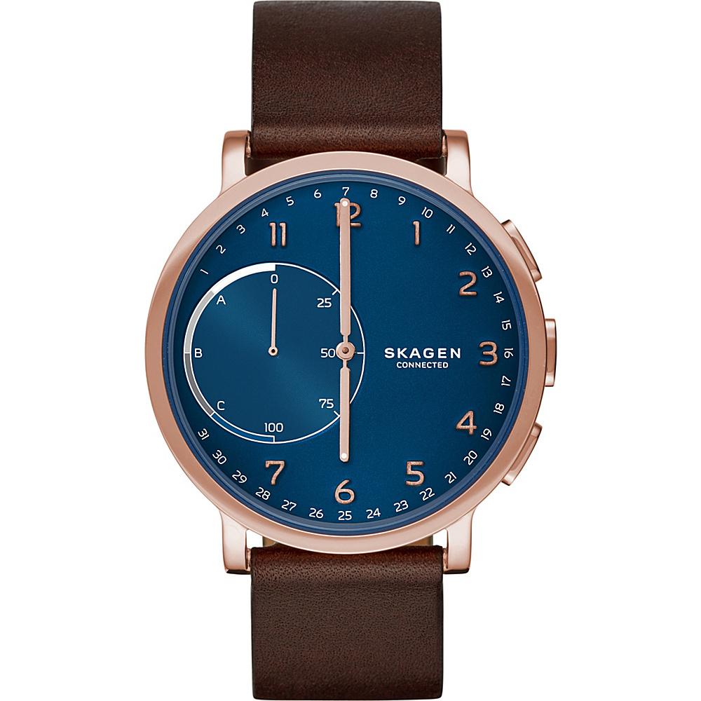 Skagen Hagen Connected Hybrid Smartwatch Brown - Skagen Wearable Technology