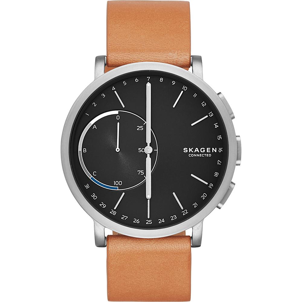 Skagen Hagen Connected Hybrid Smartwatch Light Brown - Skagen Wearable Technology