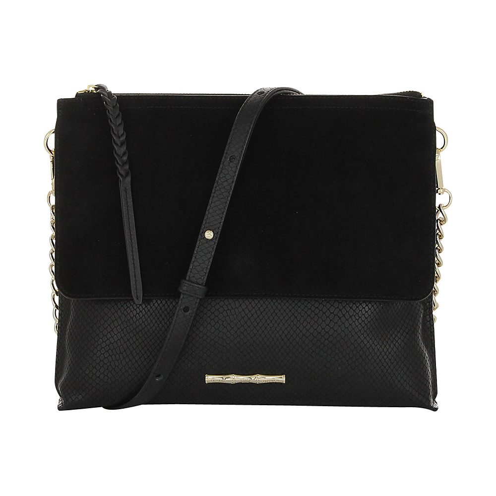Elaine Turner Jax Crossbody Coal Snake Elaine Turner Designer Handbags