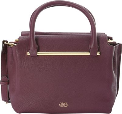 Vince Camuto Vince Camuto Axl Satchel Berry Wine - Vince Camuto Designer Handbags