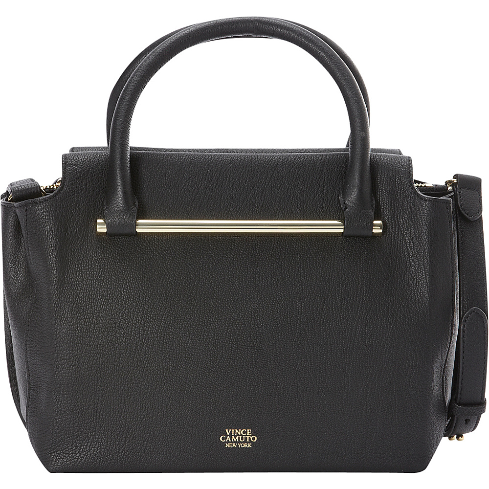 Vince Camuto Axl Satchel Black Vince Camuto Designer Handbags
