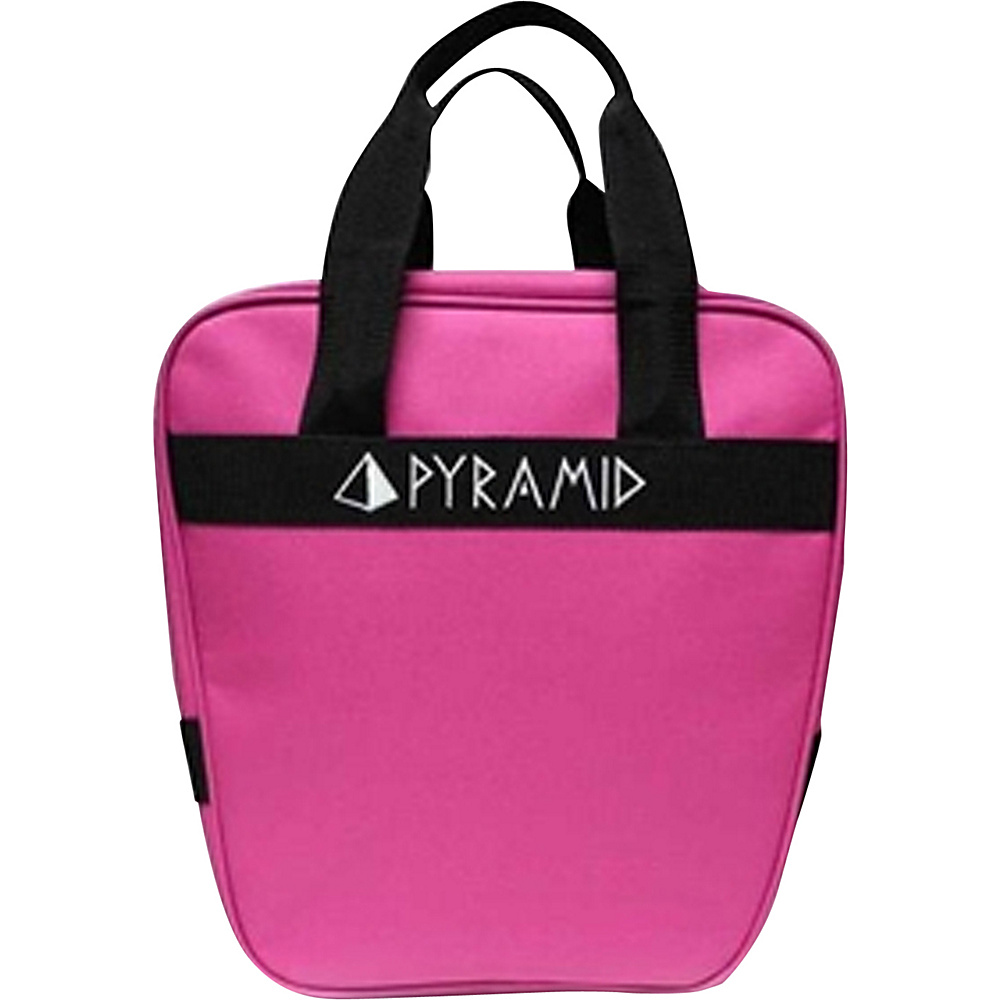 Pyramid Prime One Single Tote Bowling Bag Pink Pyramid Bowling Bags