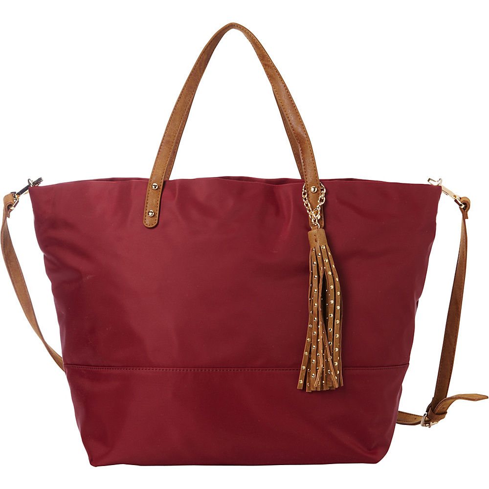 deux lux Linden Tote Rhubarb deux lux Manmade Handbags