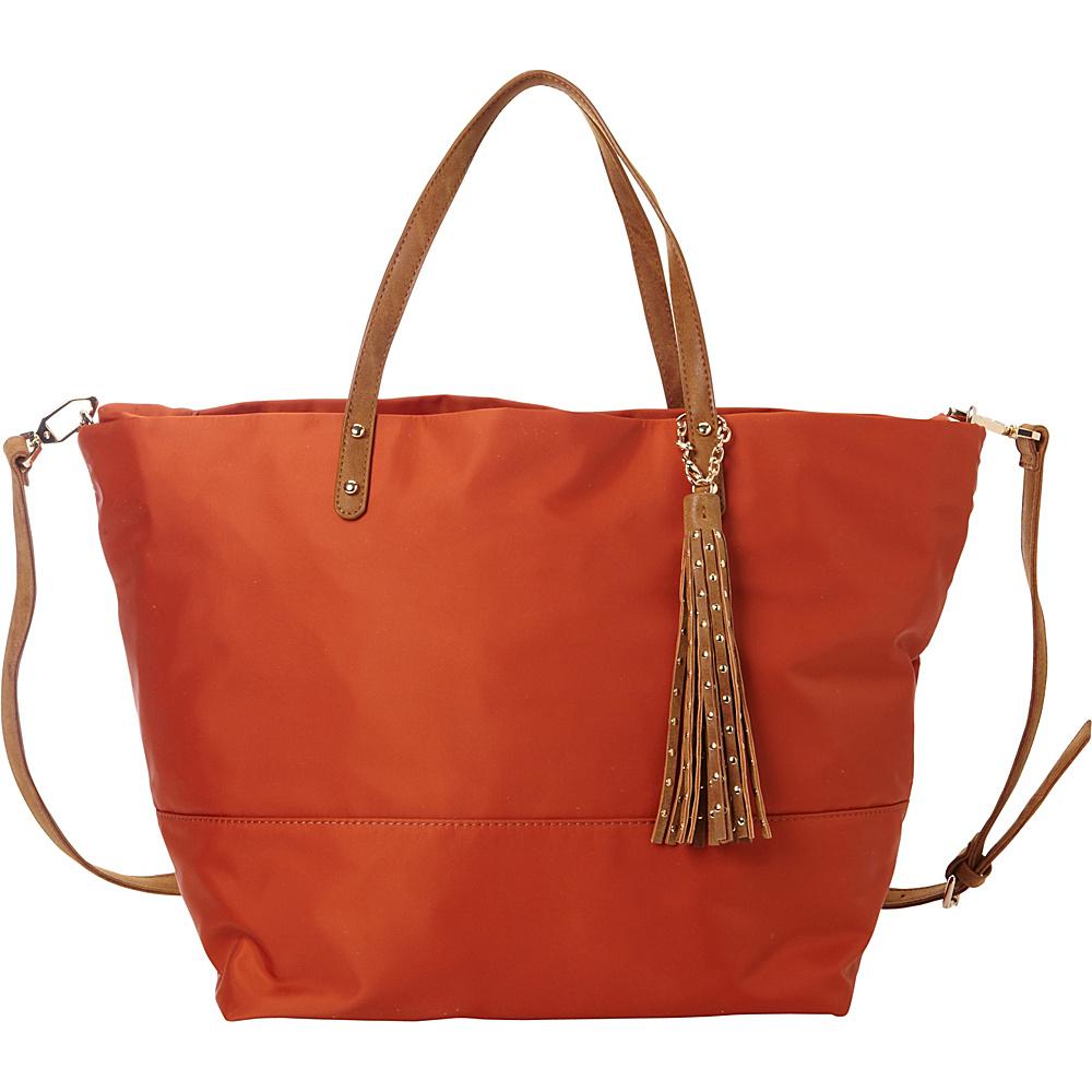 deux lux Linden Tote Pumpkin deux lux Manmade Handbags