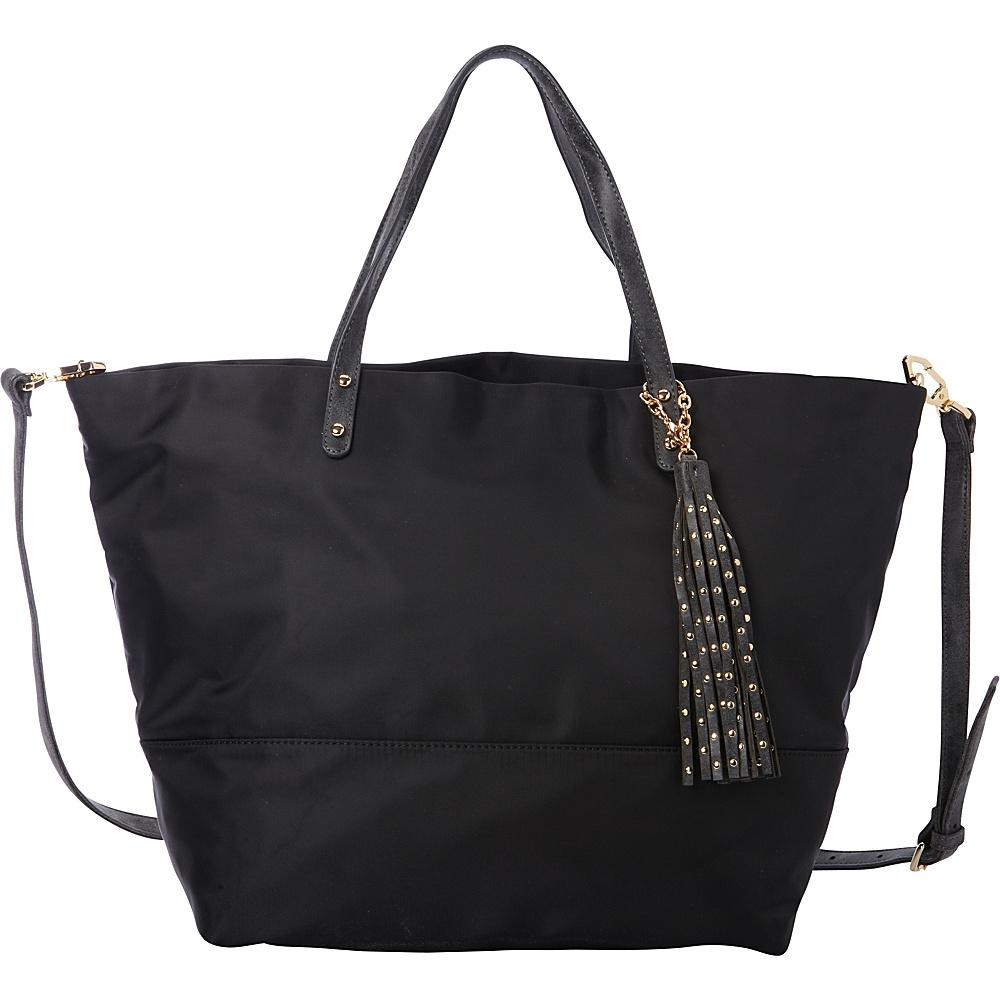 deux lux Linden Tote Black deux lux Manmade Handbags