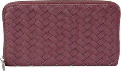 deux lux Mott Zip Wallet Wine - deux lux Women's Wallets