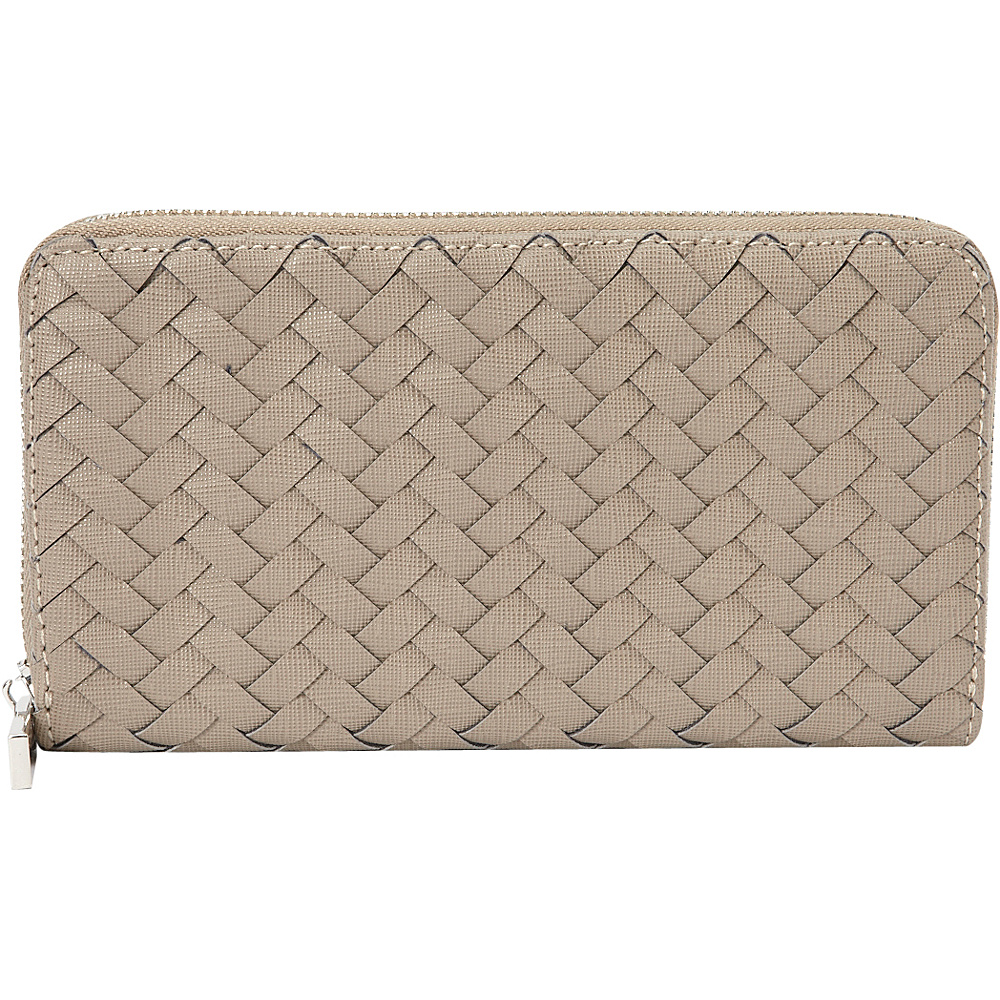 deux lux Mott Zip Wallet Grey deux lux Women s Wallets