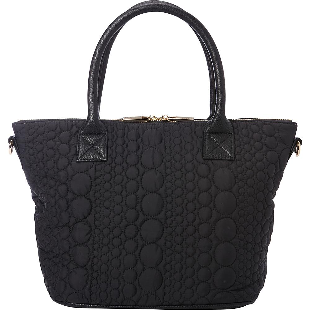 deux lux Stockholm Satchel Black deux lux Manmade Handbags