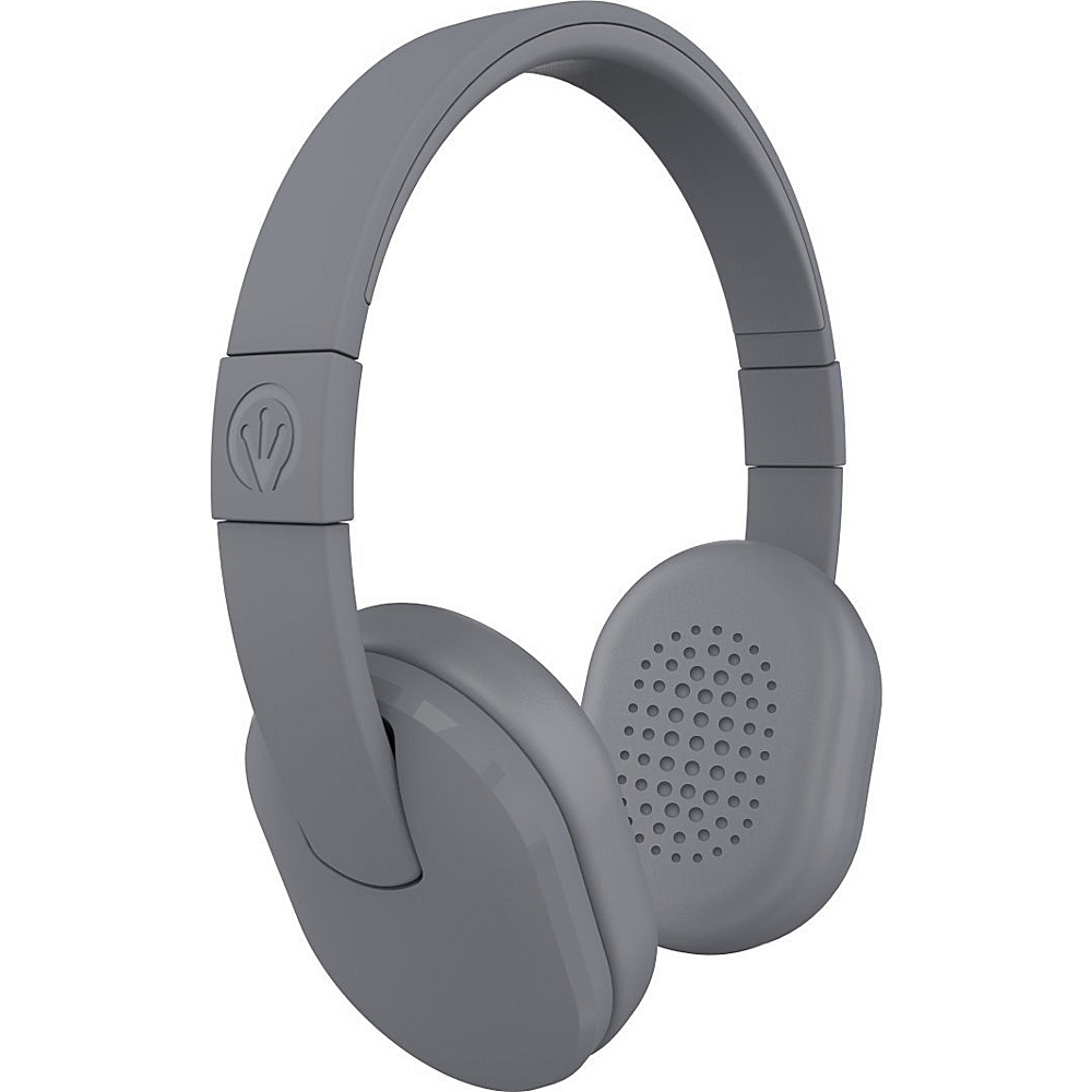 Zagg Chromatix Sleek Stylish Headphones with Mic Grey Zagg Headphones Speakers