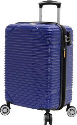 LUCAS Troy 20 inch Exp Hardside Spinner Cobalt - LUCAS Softside Carry-On