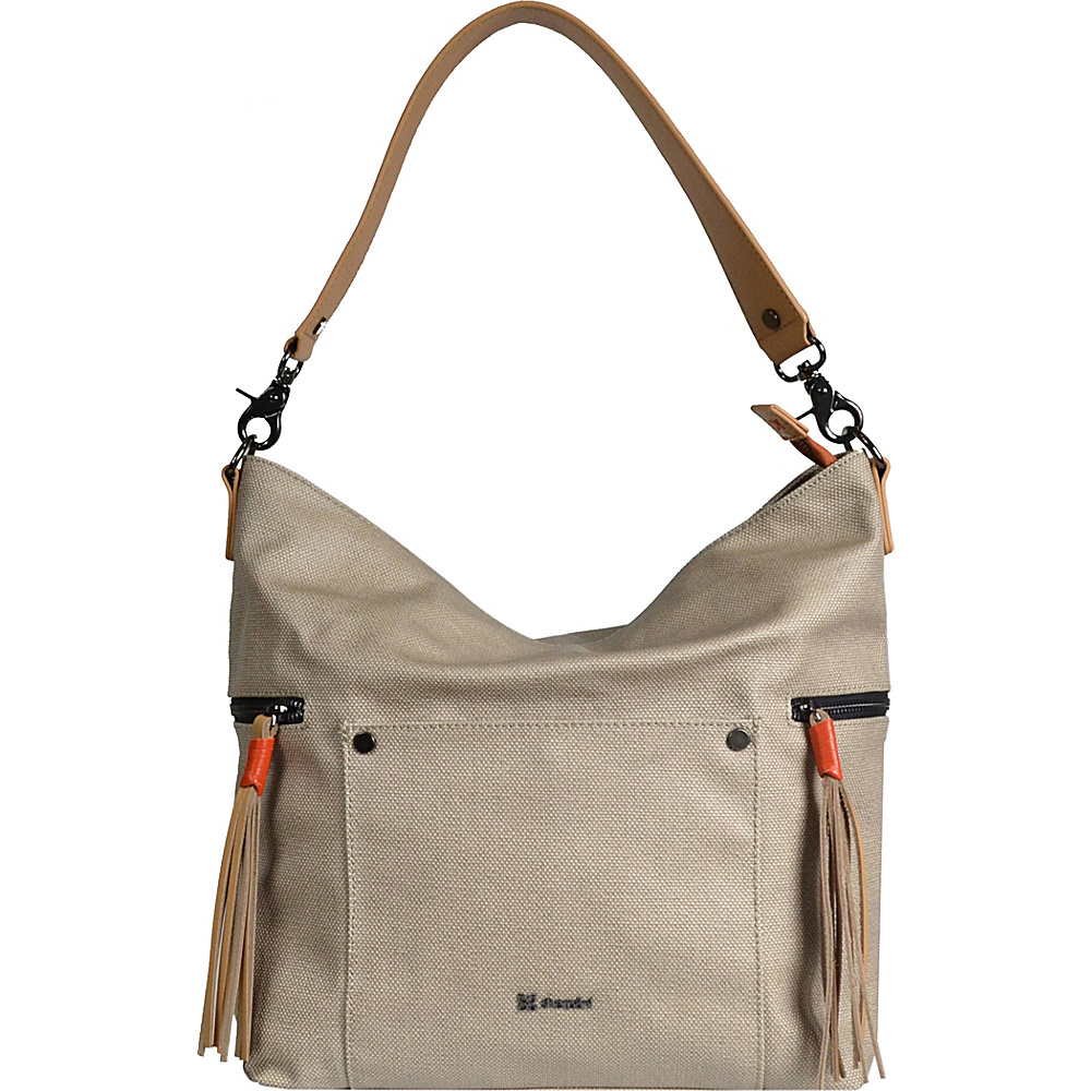 Sherpani Sonora Shoulder Bag Natural Sherpani Fabric Handbags