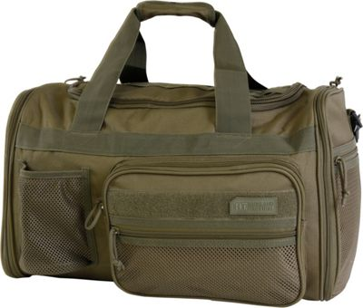 Highland Tactical Elite 20 inch Expandable Tactical Duffel Dark Green - Highland Tactical Travel Duffels