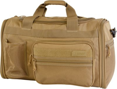 Highland Tactical Elite 20 inch Expandable Tactical Duffel Desert - Highland Tactical Travel Duffels
