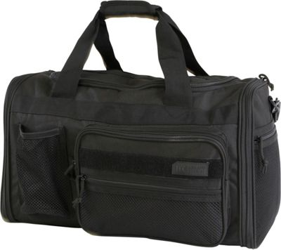 Highland Tactical Elite 20 inch Expandable Tactical Duffel Black - Highland Tactical Travel Duffels