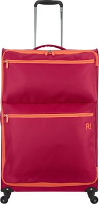 "Revelation Weightless 30"""" Spinner Luggage Deep Red - Revelation Softside Checked"