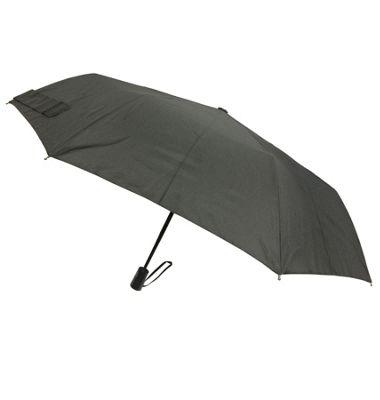 London Fog Umbrellas Fashion Mini Auto Open Close Umbrella Black - London Fog Umbrellas Umbrellas and Rain Gear