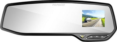PAPAGO GoSafe 2.7 inch Rearview Mirror Digital Camcorder Black - PAPAGO Car Travel