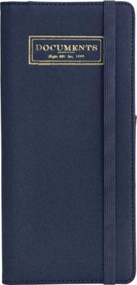 Flight 001 Correspondent Document Holder Navy - Flight 001 Travel Wallets