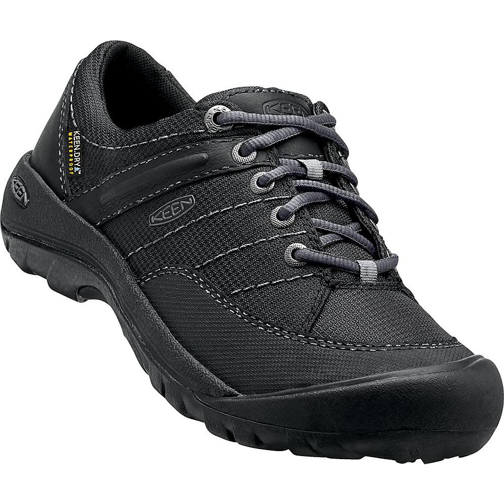KEEN Womens Presidio Sport Mesh WP Shoe 6.5 - Black - KEEN Womens Footwear - Apparel & Footwear, Women's Footwear