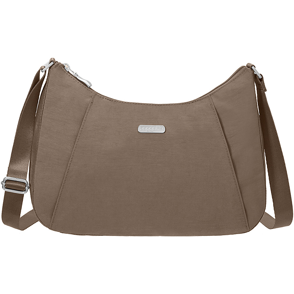 baggallini Slim Crossbody Hobo Portobello - baggallini Fabric Handbags - Handbags, Fabric Handbags