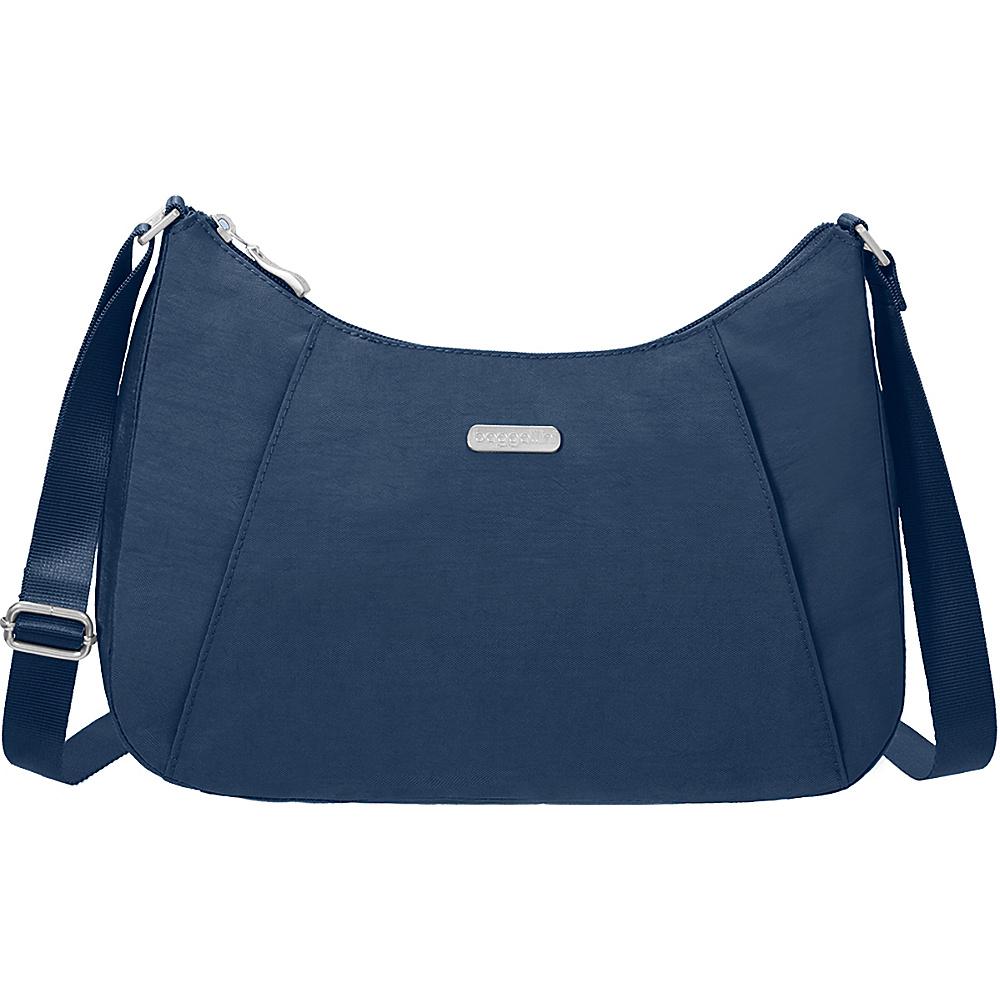 baggallini Slim Crossbody Hobo Pacific - baggallini Fabric Handbags - Handbags, Fabric Handbags