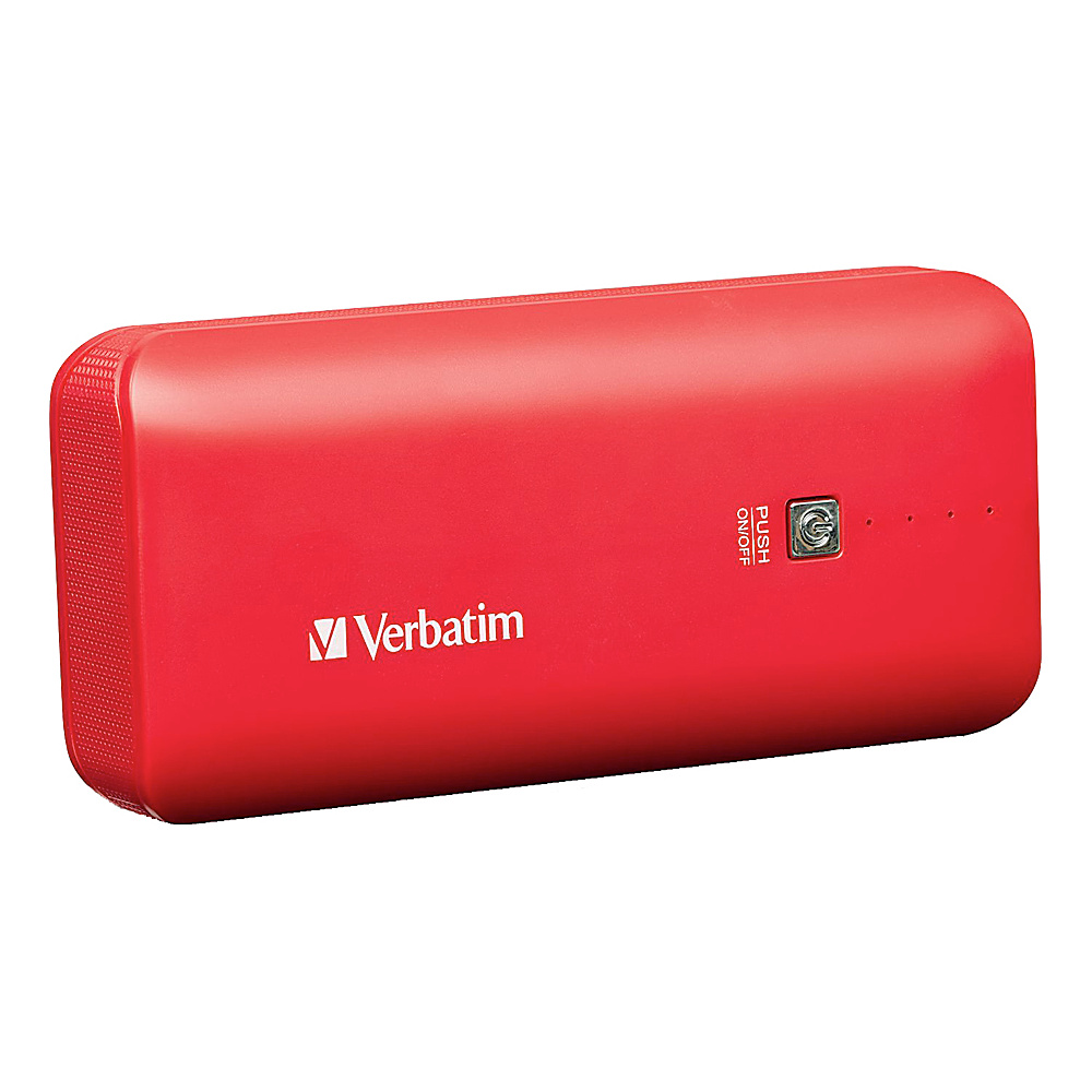 Verbatim Portable Power Pack 4400mAh 99379 Red Verbatim Portable Batteries Chargers