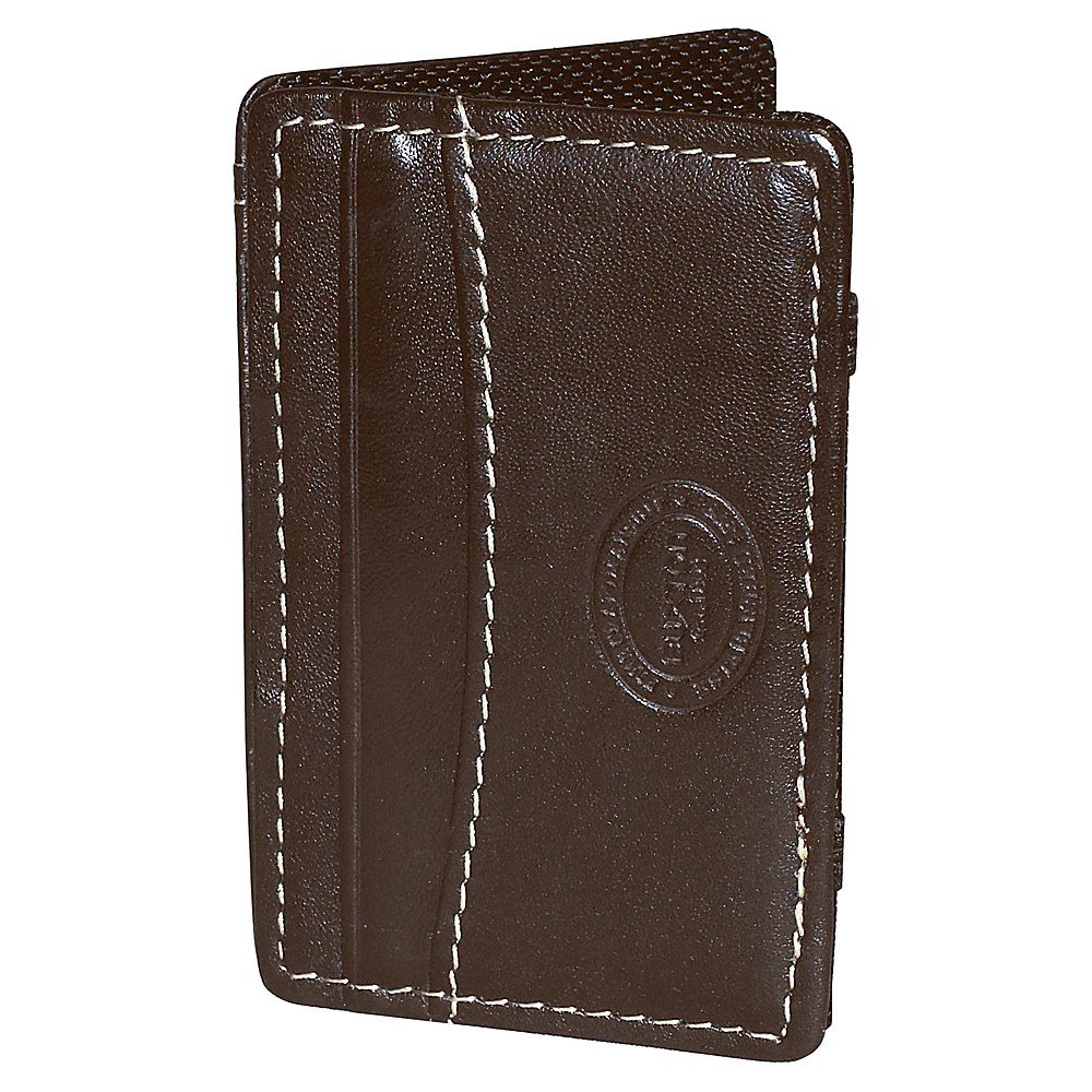 Buxton RFID I.D. Magic Wallet Brown - Buxton Mens Wallets - Work Bags & Briefcases, Men's Wallets
