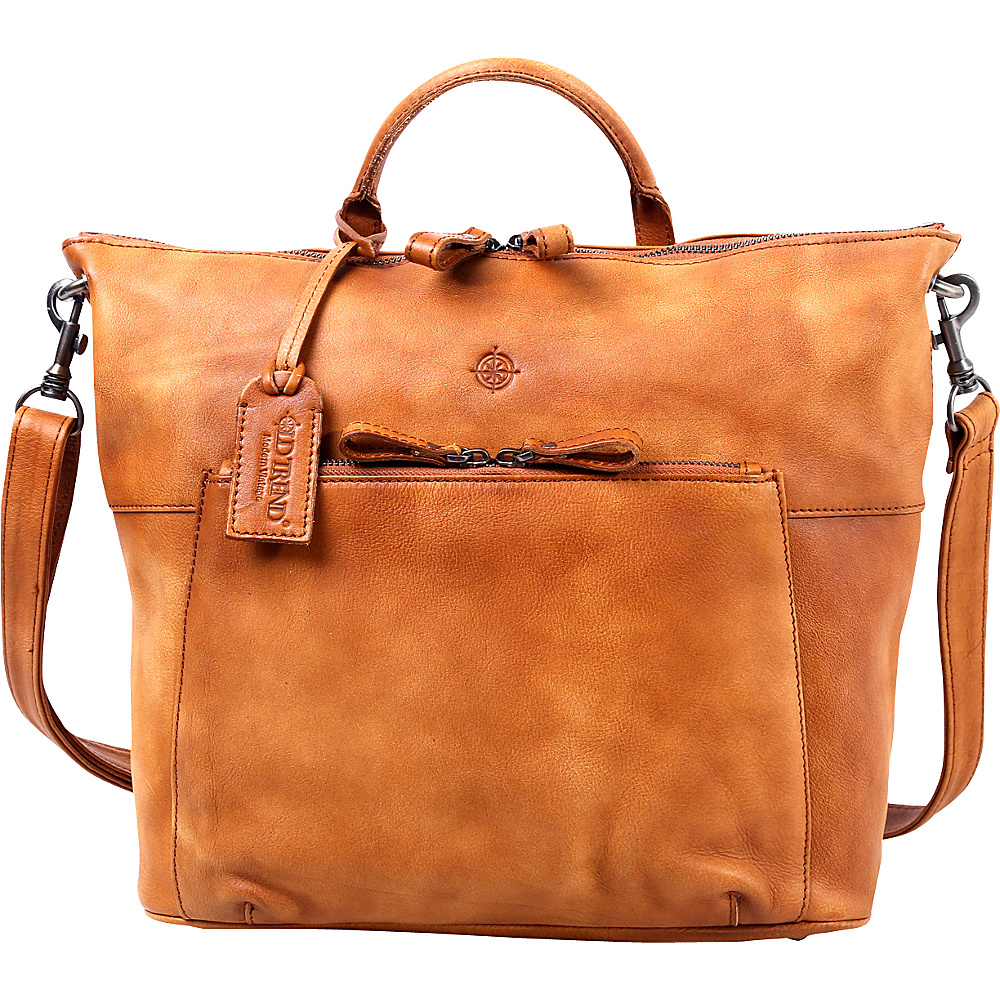 Old Trend Sunny Grove Crossbody Chestnut Old Trend Leather Handbags