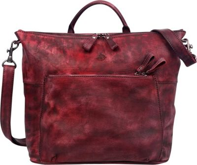 Old Trend Sunny Grove Crossbody Rusty Red - Old Trend Leather Handbags