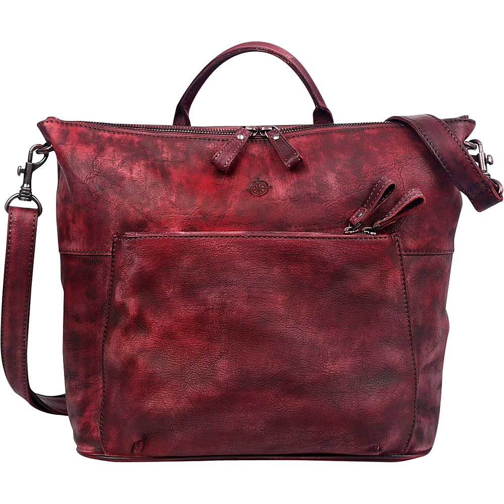 Old Trend Sunny Grove Crossbody Rusty Red Old Trend Leather Handbags
