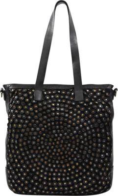 Old Trend Stellar Stud Tote Black - Old Trend Leather Handbags