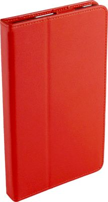 Digital Treasures Props Folio Case for 7 inch Kindle Fire Red - Digital Treasures Electronic Cases