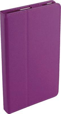 Digital Treasures Props Folio Case for 7 inch Kindle Fire Purple - Digital Treasures Electronic Cases