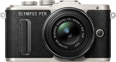 Olympus 16.1 MP Mirrorless Camera with Lens Black - Olympus Cameras