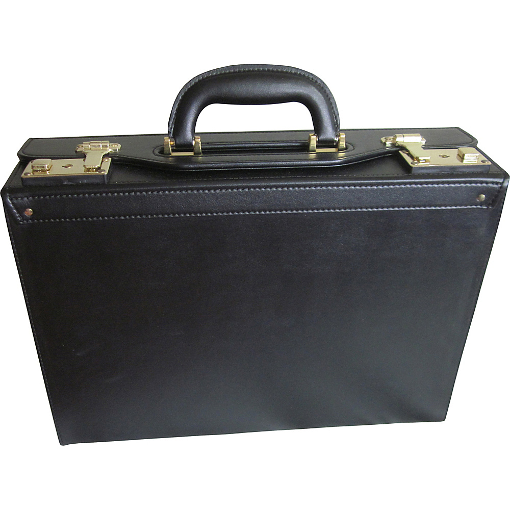 AmeriLeather Bryn Academy Case Black - AmeriLeather Non-Wheeled Business Cases - Work Bags & Briefcases, Non-Wheeled Business Cases