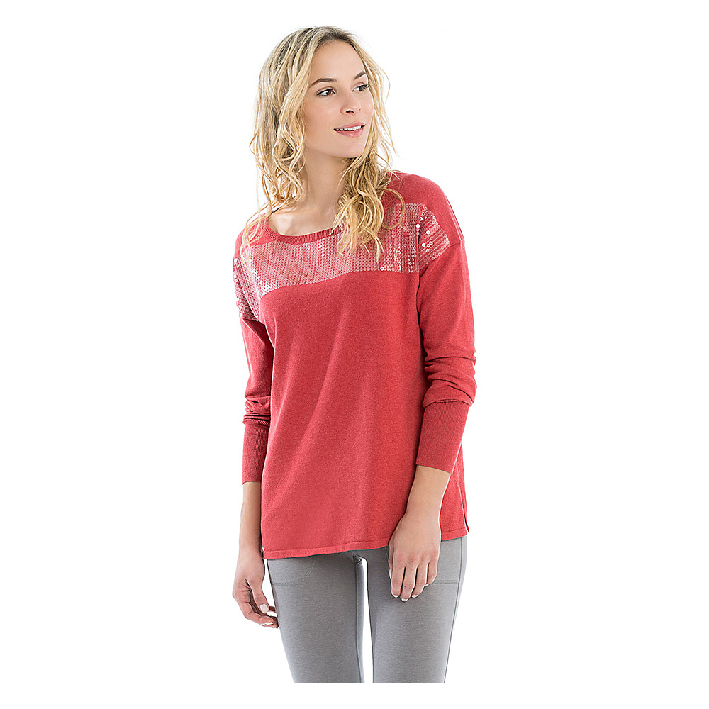 Lole Jen Sweater S - Red - Lole Womens Apparel - Apparel & Footwear, Women's Apparel