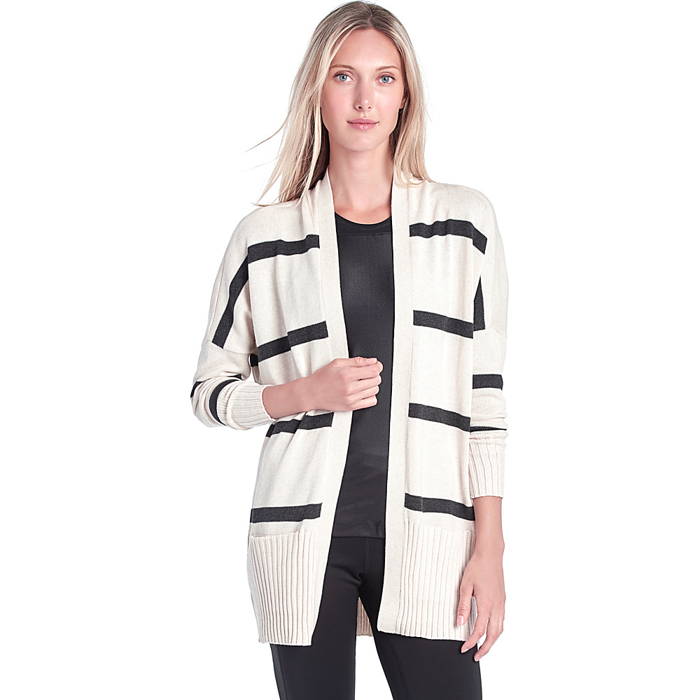 Lole Sachin Cardigan XL - Gelato Stripe - Lole Womens Apparel - Apparel & Footwear, Women's Apparel